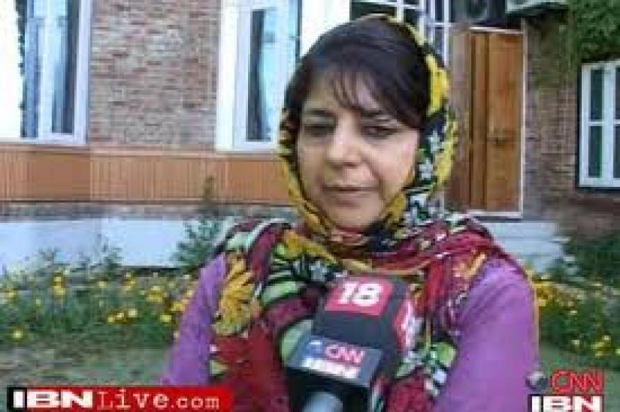 Kashmir must cement India-Pakistan friendship, says Mehbooba