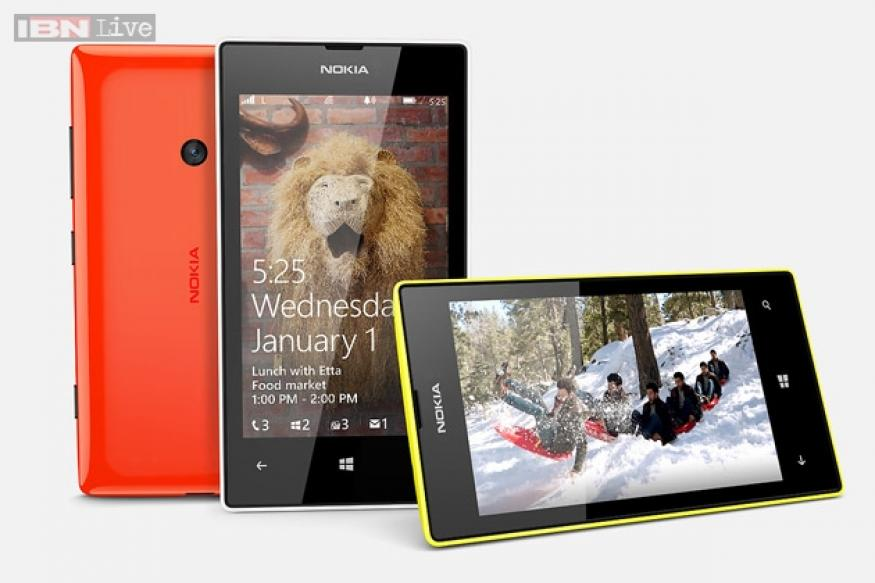Nokia Lumia 525 unveiled: 4-inch display, 1GB RAM, 5MP camera