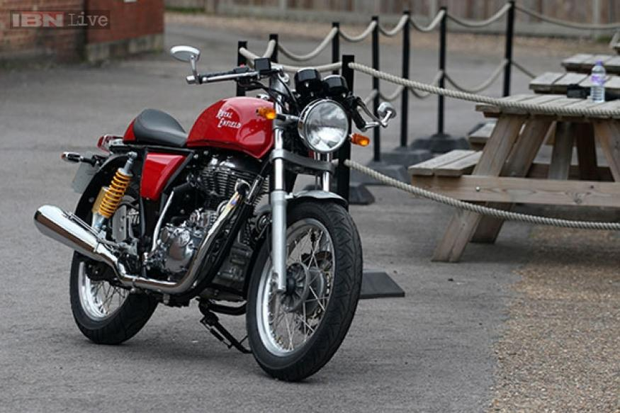 Royal Enfield Continental GT to be launched in India on November 26