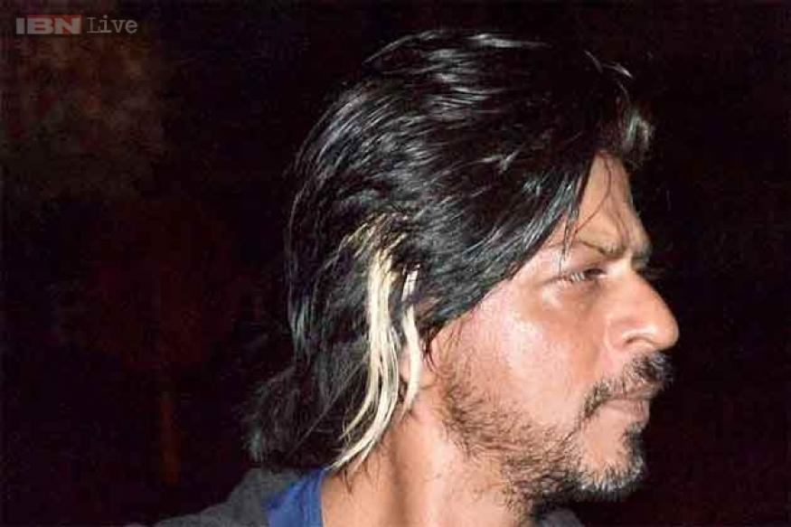 New look for 'Happy New Year'? Shah Rukh Khan sports blonde streaks and stubble