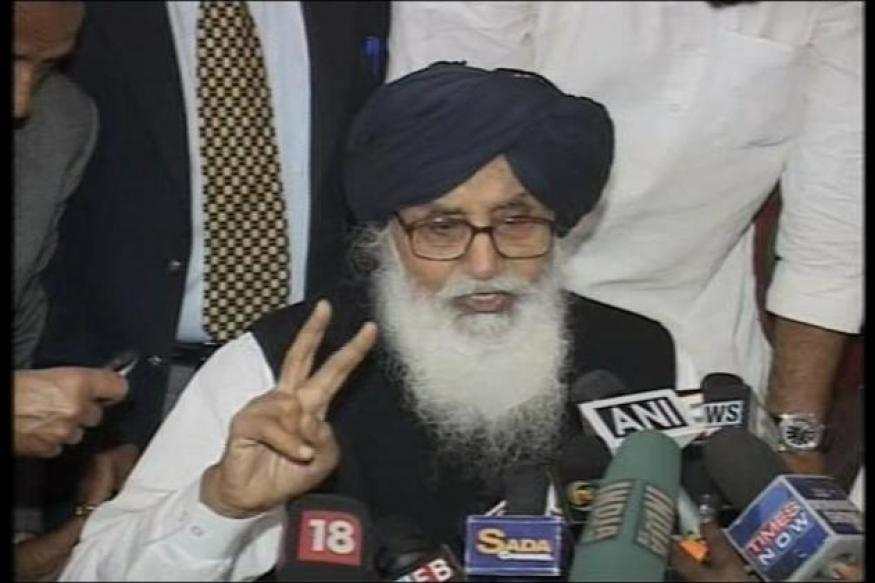 Terrorism is Congress's gift to Punjab: Parkash Singh Badal