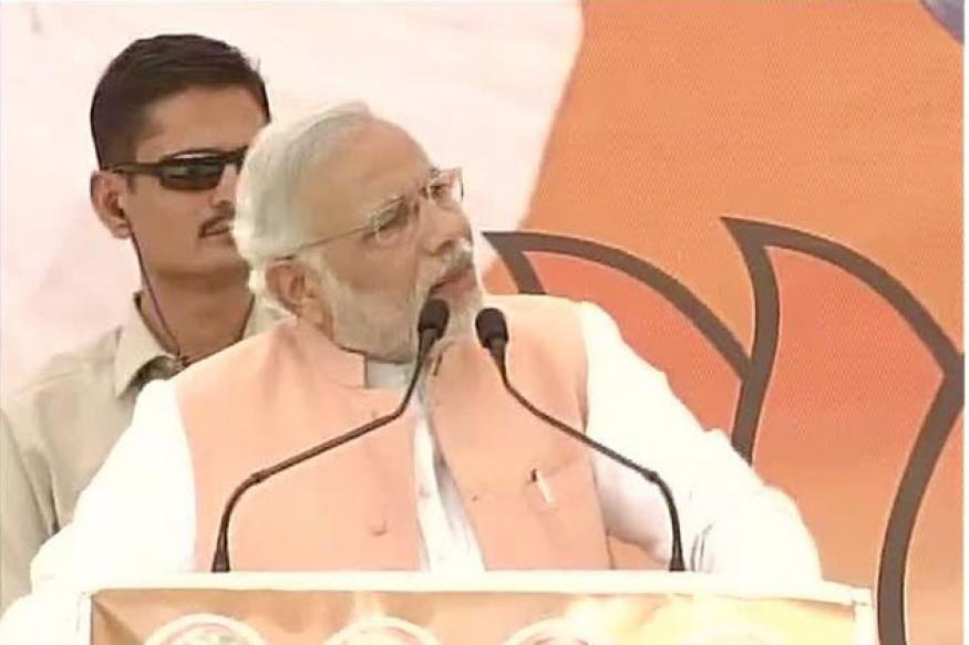 UPA government in policy paralysis, says Narendra Modi