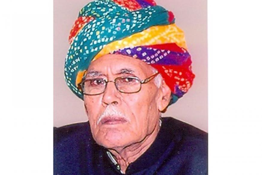 Former Rajasthan Agriculture minister Harjiram Burdak dies