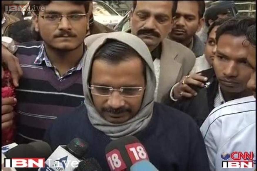 Arvind Kejriwal holds Janta Darbar in Ghaziabad