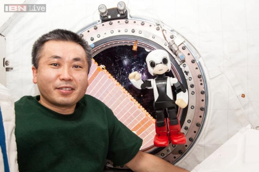 Watch: First humanoid robot in space chats with Japanese astronaut