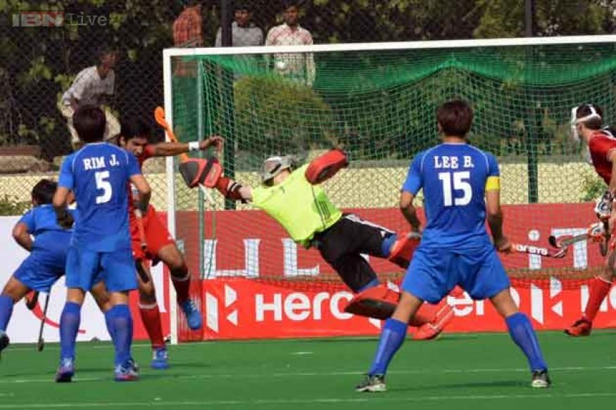 Junior Hockey WC: Korea thrash Canada 7-4
