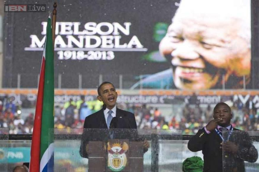 South Africa admits error over 'schizophrenic' Mandela signer