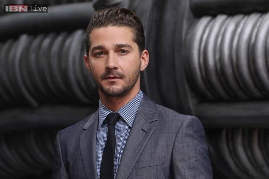 Shia LaBeouf apologises for copying novel for his 'Howard Cantour'