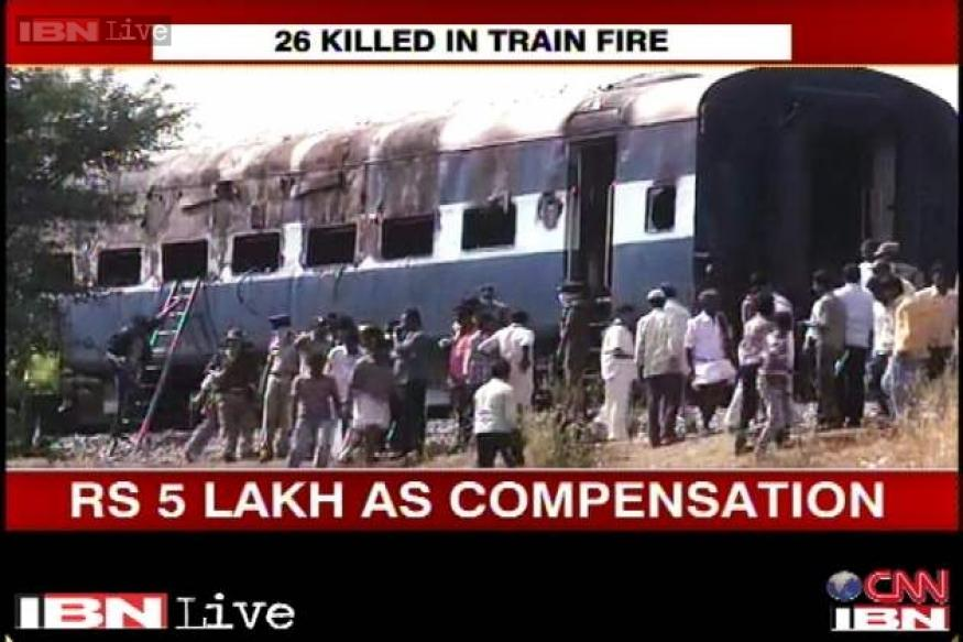 Bangalore-Nanded Express fire: 20 bodies identified