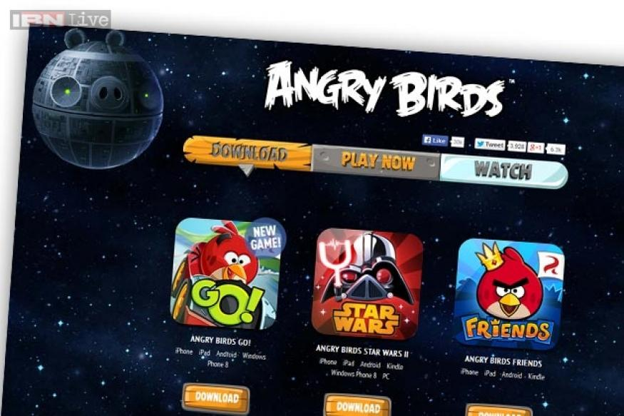 Angry Birds website hacked