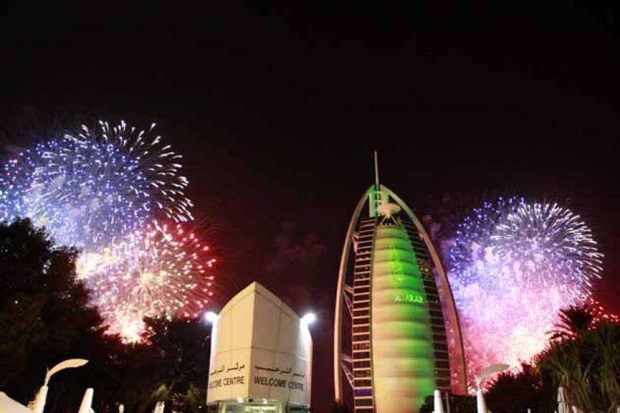 Dubai 2014 fireworks display breaks Guinness world record