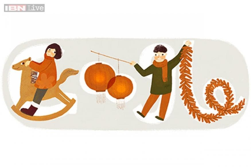 Chinese New Year 2014: Google celebrates the year of the horse with a doodle