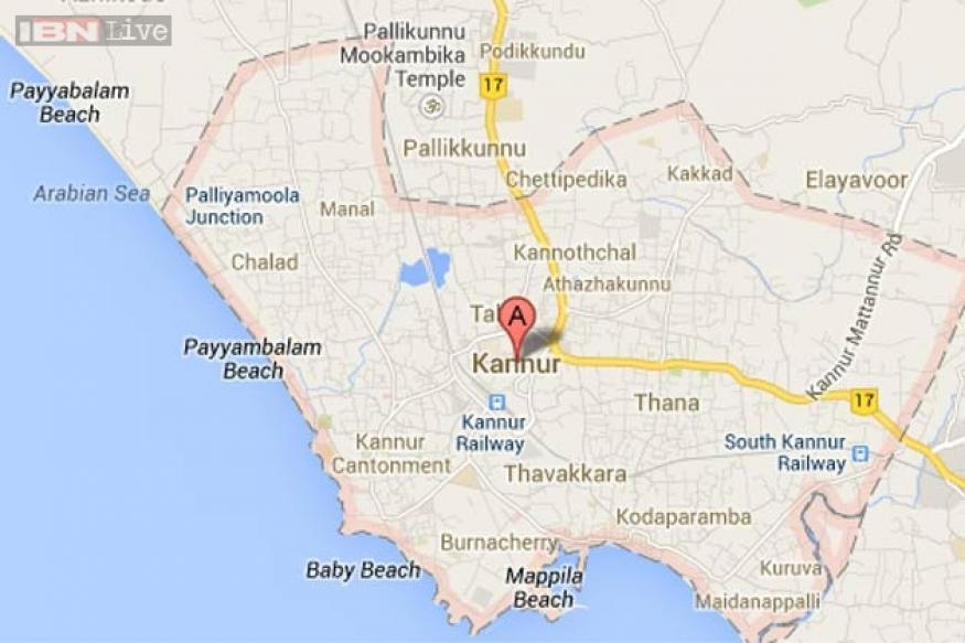 Kerala: Truck carrying cylinders catches fire