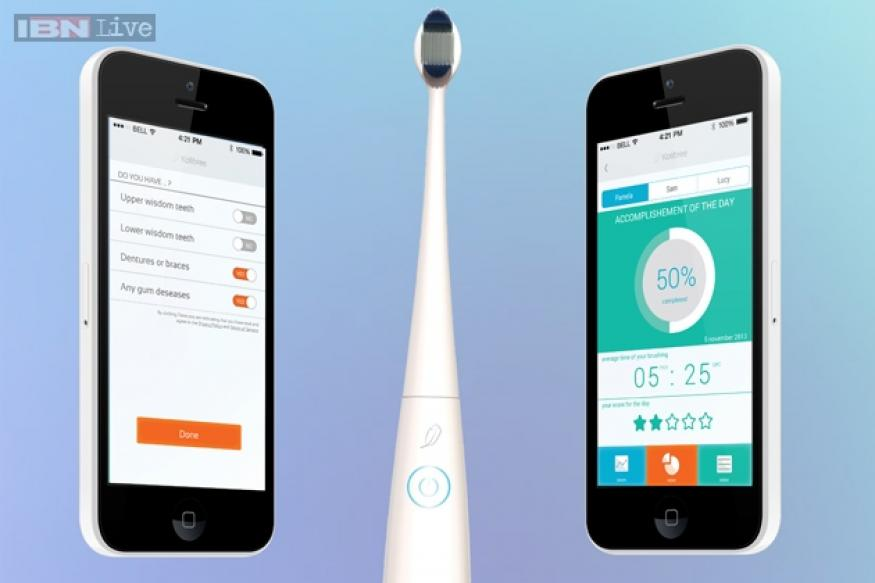 Kolibree: The Internet-connected toothbrush that senses how long and how well you brush