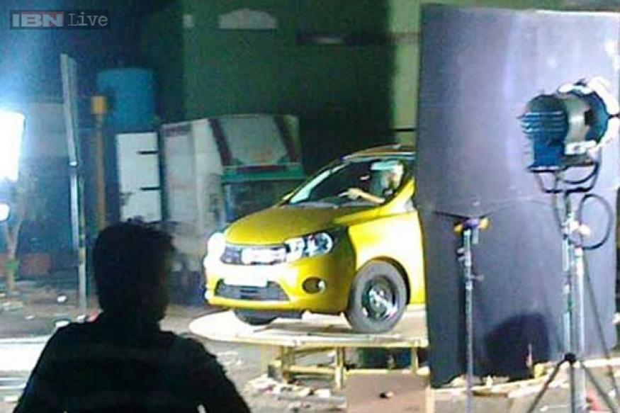 Maruti Celerio spotted in India ahead of its debut at Auto Expo 2014