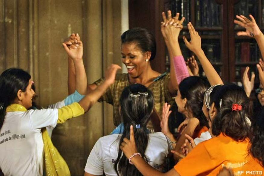 Michelle Obama's Bollywood dance among top White House Photos