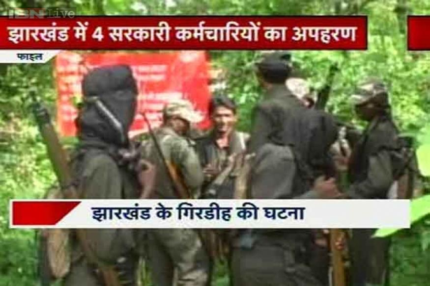 Jharkhand: No trace of 4 government employees abducted by Naxals