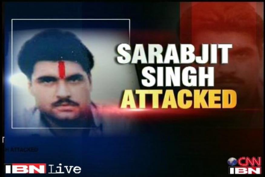 Two prisoners charged for Sarabjit Singh's murder in Pakistan