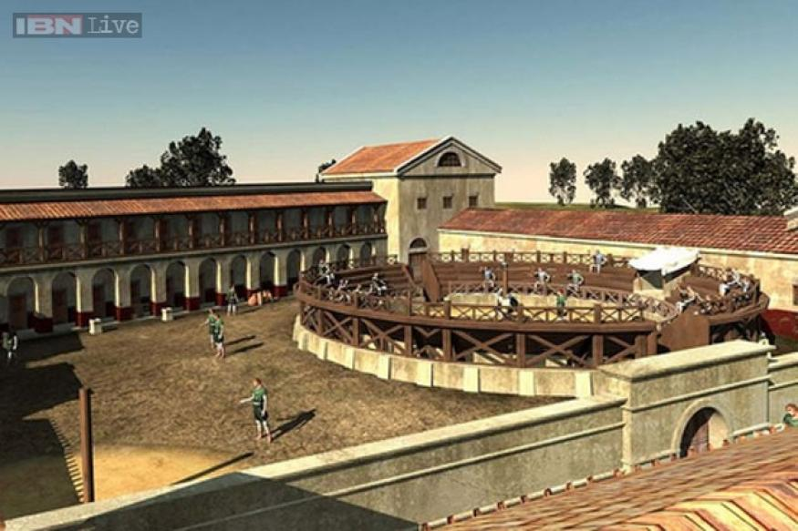First gladiatorial school outside Rome discovered by University archaeologist