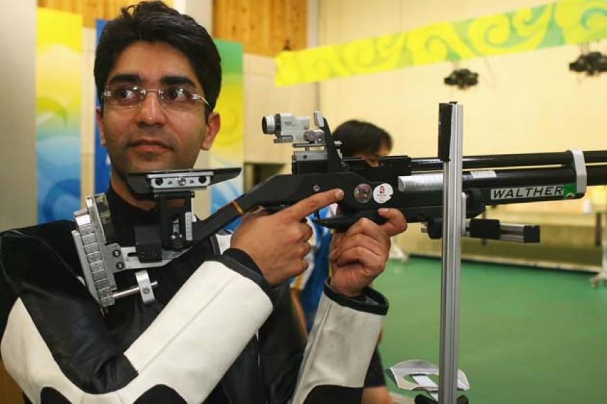 Abhinav Bindra wins two gold medals in Inter Shoot Tri series Shooting