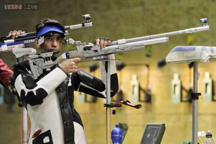 Abhinav Bindra claims third gold in Inter Shoot Tri series Shooting