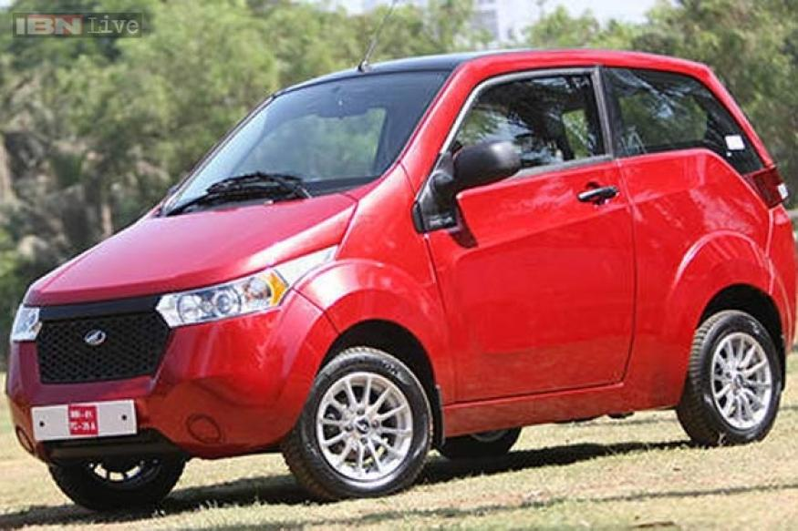 Auto Expo 2014 Mahindra Reva lineup: Verito electric, upgraded e2O, XUV500 electric and Formula E car