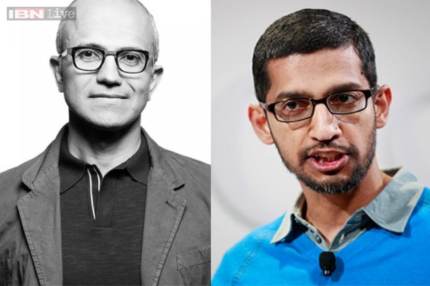 Sundar Pichai vs Satya Nadella: Two Indians in the running for the Microsoft CEO post