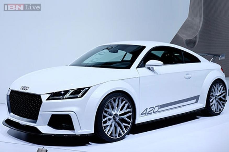 Geneva Auto Show 2014: Audi unveils TT Quattro Sport Concept