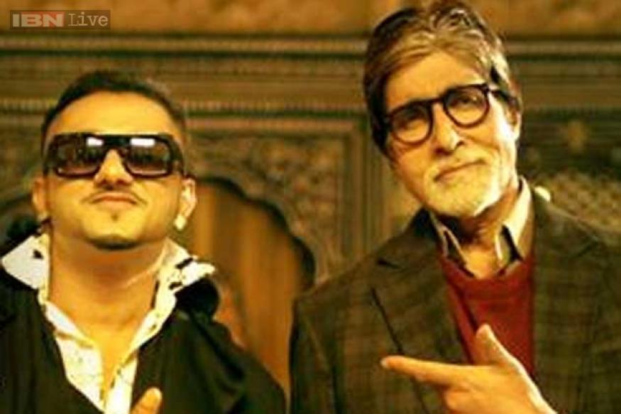 Watch Amitabh Bachchan party with Yo Yo Honey Singh in 'Bhootnath Returns'