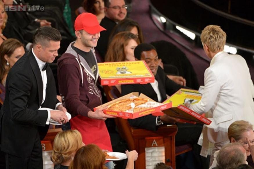 The most dramatic moments of Oscars 2014: Jennifer Lawrence falls, Ellen Degeneres distributes pizza