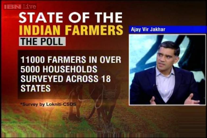 30 per cent farmers to vote for BJP, 17 per cent prefer Congress in LS polls: survey