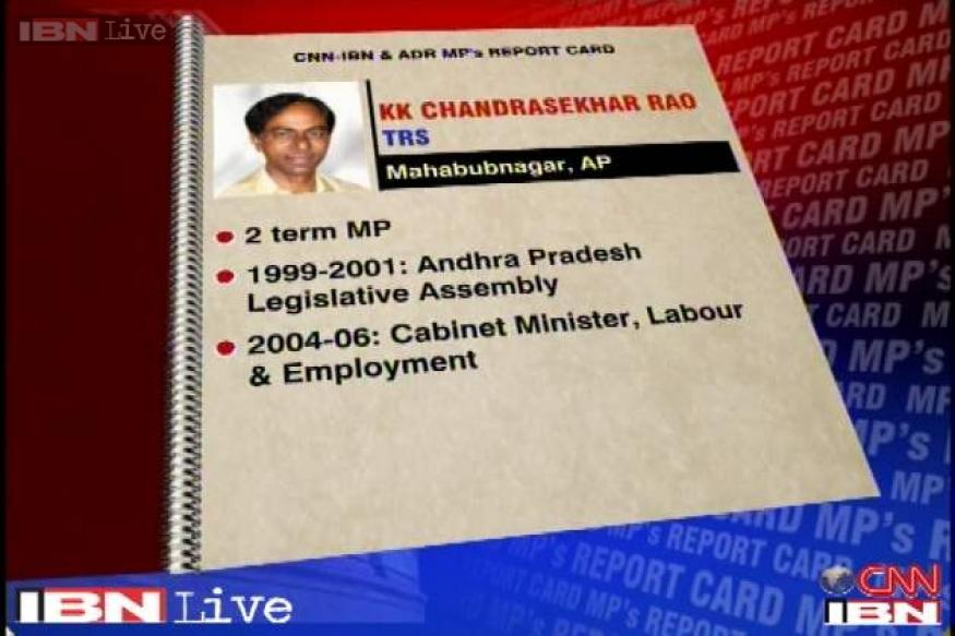 MPs Rating: K Chandrashekhar Rao scores 7.45 out of 10