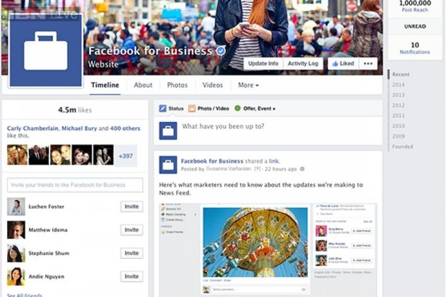 Facebook streamlines Pages design, introduces Pages to Watch feature