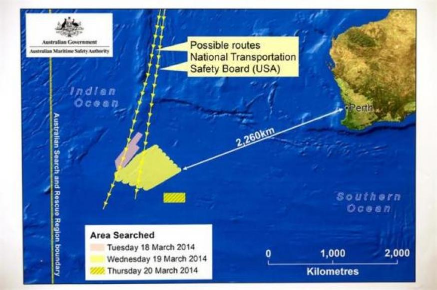 Norwegian ship reaches area where Malaysia plane debris may have been spotted