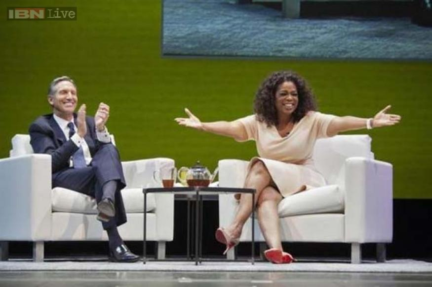 Soon, you can have a cup of 'Oprah Chai,' a tea-based drink created by Oprah Winfrey, at a Starbucks