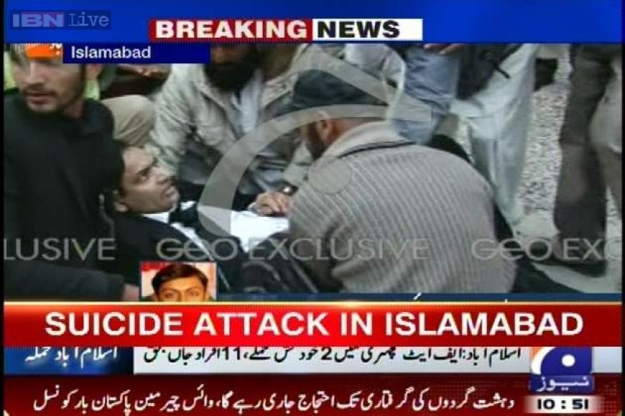 Judge among eleven dead in suicide attack outside Islamabad court