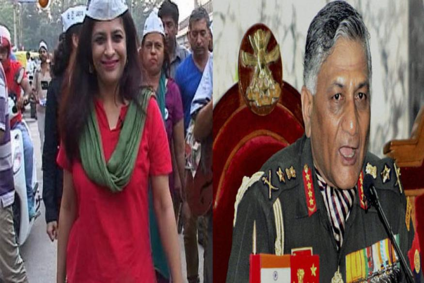 Shazia Ilmi booked for poll code violation; complaints against VK Singh
