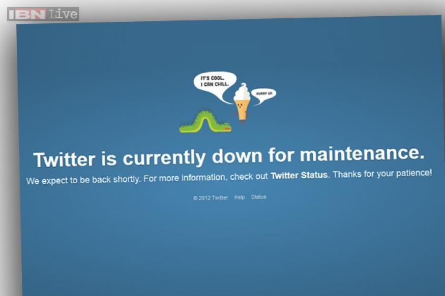 Twitter goes down temporarily; service restored after a brief outage
