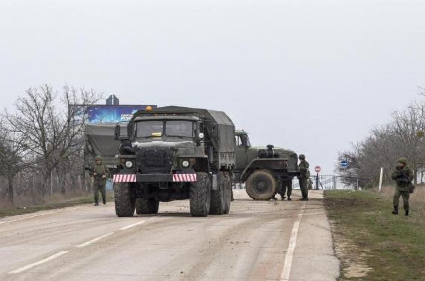 Ukraine cites Russian troop movements as Crimea sliding from its grasp
