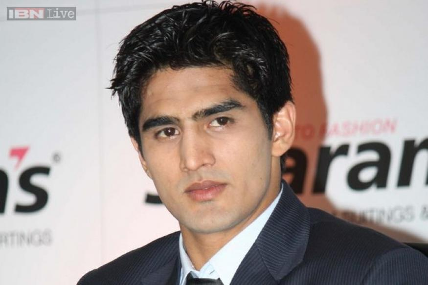 Vijender Singh feels that walking on the ramp is definitely easier than boxing
