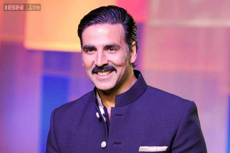 After Aamir Khan, Akshay Kumar sports a handlebar mustache now