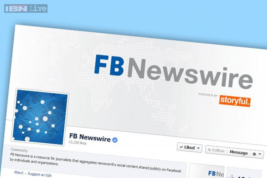 FB Newswire: Facebook launches a tool tailored to journalists