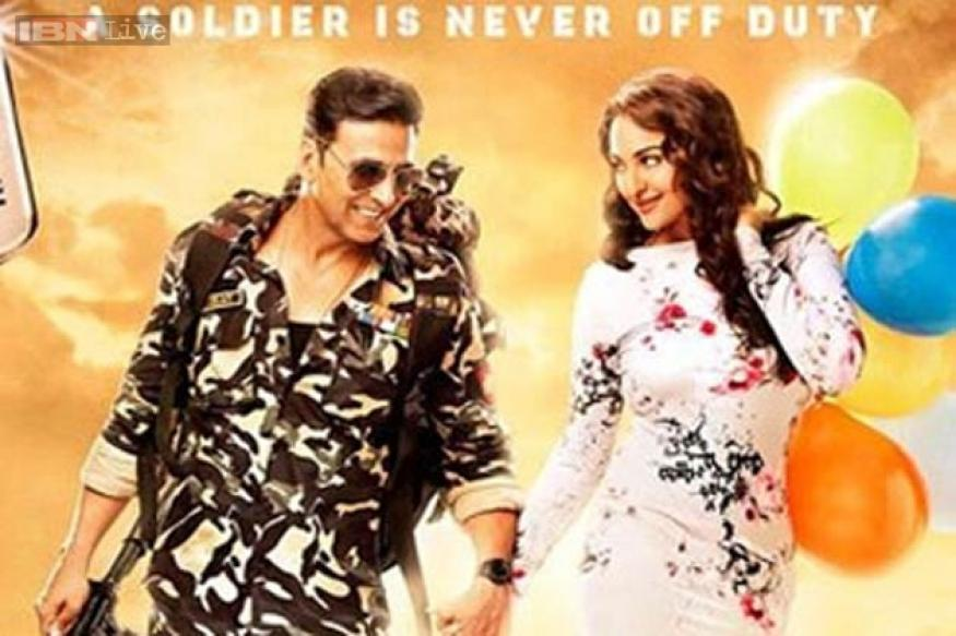 'Holiday' first look: Akshay Kumar, Sonakshi Sinha reunite for yet another action-romance