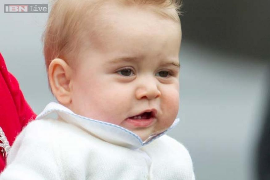 Adorable photos of 8-month-old Prince George with mom Kate and dad Prince William on his first royal tour to New Zealand