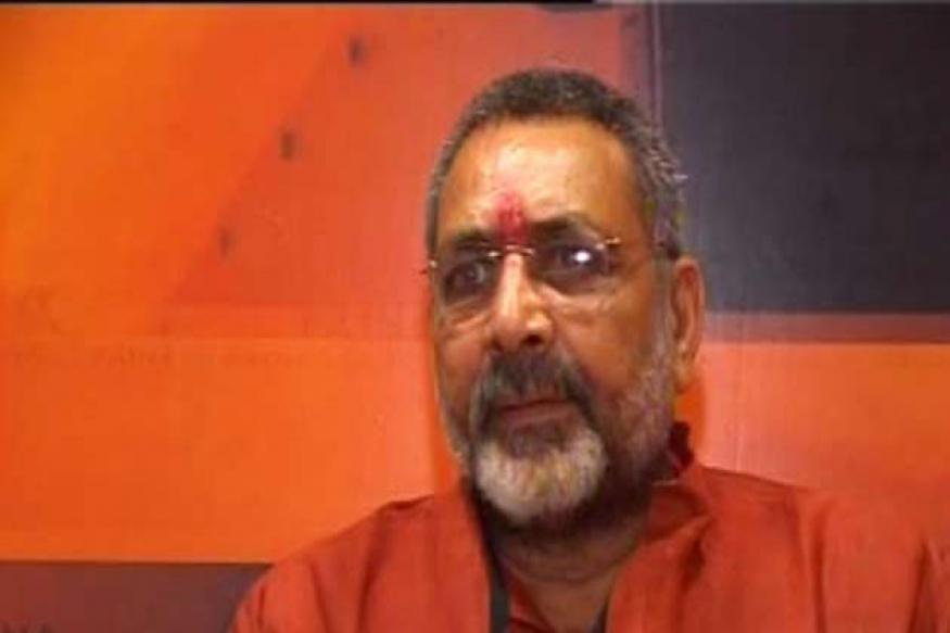 Second FIR lodged against Giriraj Singh in Jharkhand