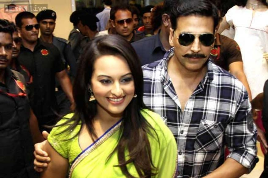 Sonakshi Sinha, Akshay Kumar are Bollywood's most punctual on-screen couple
