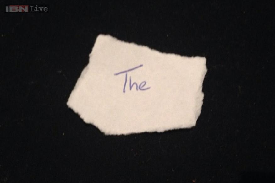 Man selling the word 'the' on eBay; gets offers from 43 bidders