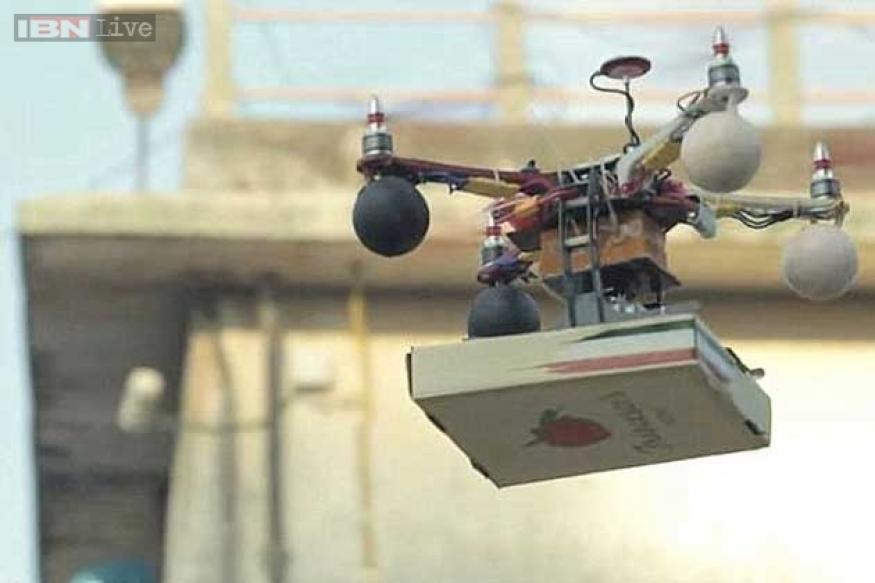 Mumbai Police to seek explanation on use of drone for pizza delivery