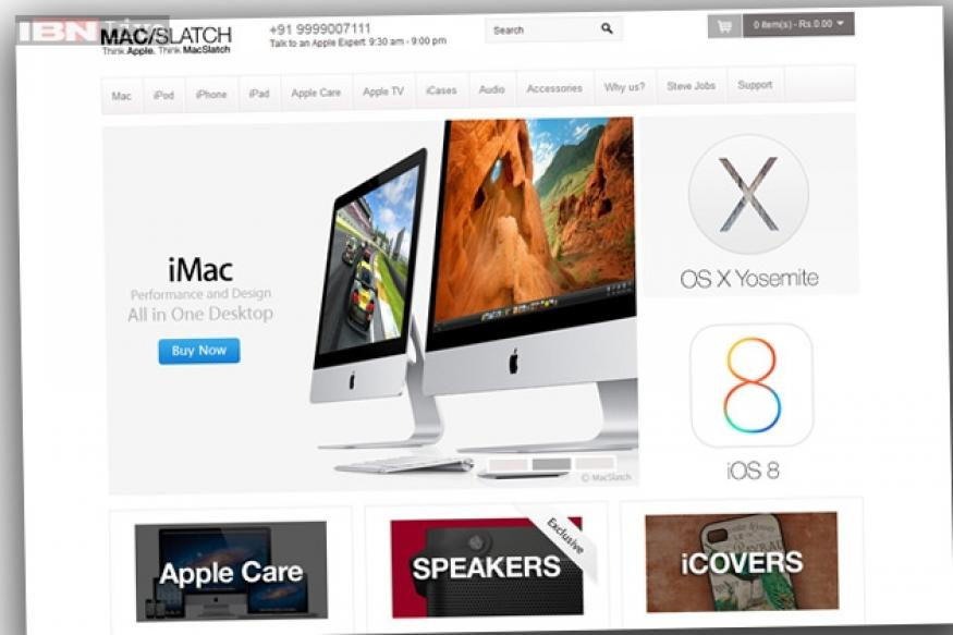 An online store in India that exclusively sells Apple products