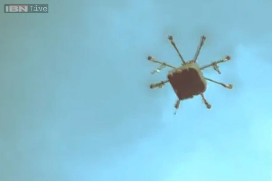 Pie in the sky: Russian chain delivers pizza by drone